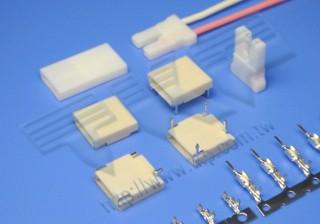 """5.10mm (.201"""") 间距-51J1 高电压系列连接器 - 高电压连接器"""