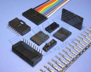 """2.54mm (.100"""") 间距-553 线对线系列连接器 - 线对线"""