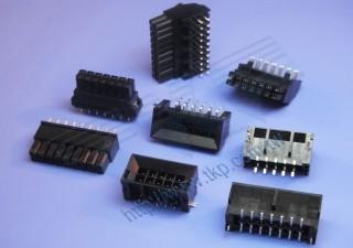 """3.00mm (.118"""") 间距-H6630M1 线对板连接器 - 线对板"""