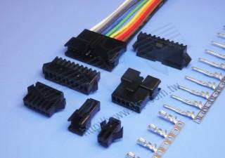 2,50 mm Wire-to-Wire-Serie Steckverbinder - Kabel zu Kabel