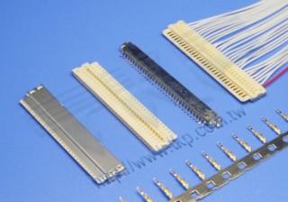 """1.00mm(.039"""") 间距-10J2 线对板连接器 - 线对板"""