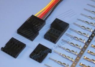 "2.54mm (.100"") 间距-H254D1 线对线系列连接器 - 线对线"