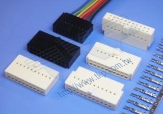 """2.54mm (.100"""") 间距-IDC254M1 线对线系列连接器 - 线对线"""