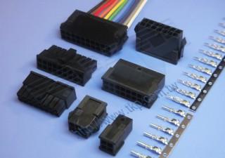 "3.00mm (.118"") 间距-H6630 & P6630 双排线对板连接器 - 线对板"