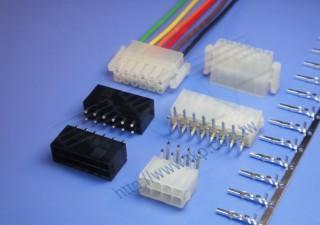 """4.20mm (.165"""") 间距-6657 R2 双卡勾双排间距线对板系列 - 线对板"""