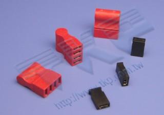 "2.54mm (.100"") 间距-HMJ254 - 短路帽系列连接器"