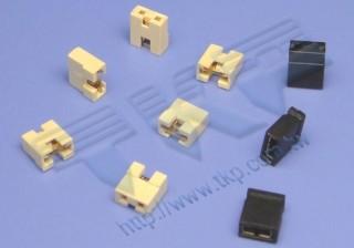 2.54mm 短路帽系列连接器 - 短路帽系列连接器