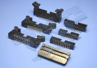 """2.00mm (.079"""") 间距-IDC200M2 线对板连接器 - 线对板"""