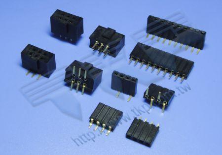 2,54 mm-2412 Board-to-Board-Serie Buchsenleiste - Board-to-Board
