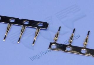 Vergoldete Crimpklemme 30-36 AWG für H10J2-Gehäuse