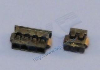 1,2-mm-Buchsengehäuse Wire-to-Board-Typ