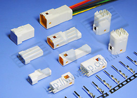 2.00mm 线对板及线对线防水连接器