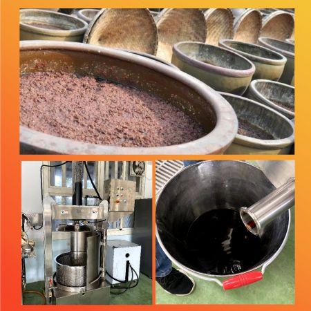 Машина для переработки фруктов и молочных продуктов - Машина для обработки фруктов и напитков