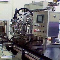 Линейная машина для объемного розлива - Линейная машина для объемного розлива