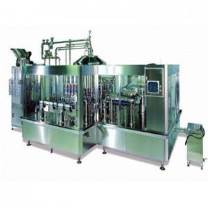 Rotary Bottle Rinsing-Filling-Capping Machine