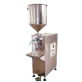 Semi-Automatic Controlled Volume Filling Machine - Semi-Automatic Controlled Volume Filling Machine