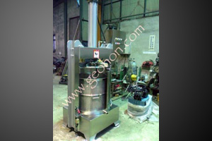 Dehydrated fermented juice extraction series