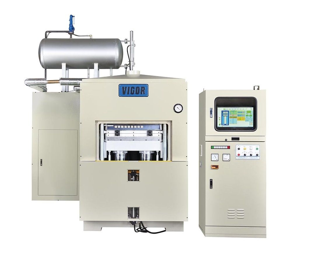 真空高圧機(400°対応)超高温実験室真空プレス