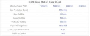 Glue Station GS70
