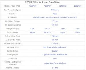 Slitter Scorer SS50R