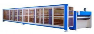 ホットプレートラミネート機 - ホットプレート冷却部