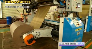 Mill Roll Stand - MR 80