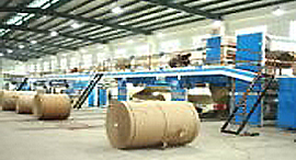 5ply Corrugated Cardboard Production Line