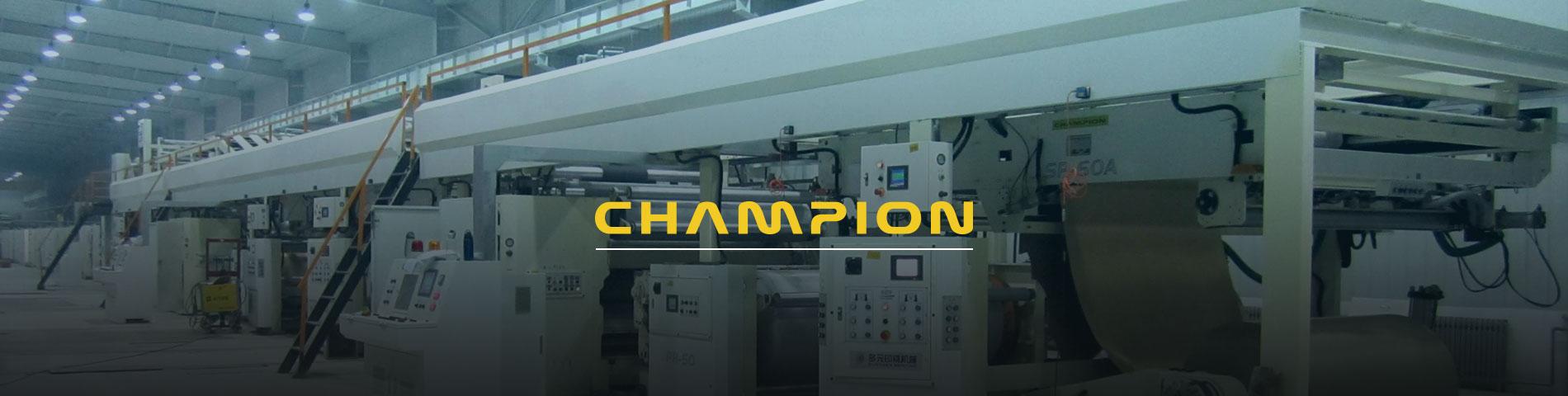 Champion Corrugated       adalah  Produsen Peralatan      Karton Bergelombang Profesional