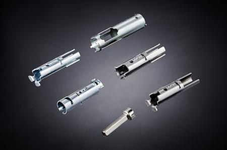 Stamped Door Lock - Cylinder Roll Up