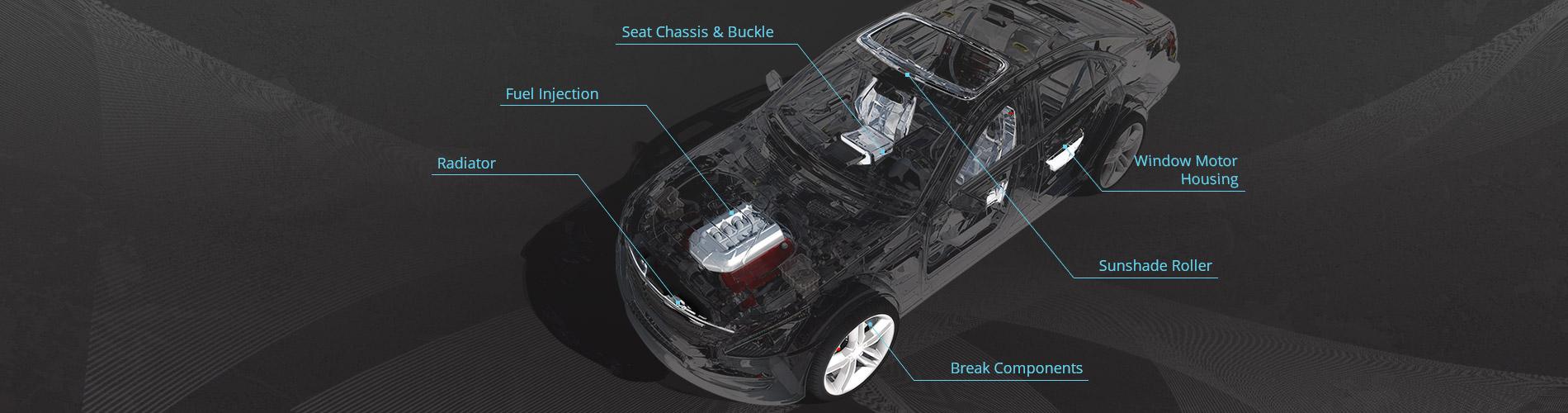Штампованные  детали для  автомобилей