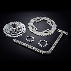 Engranajes y piezas estampadas en cadena
