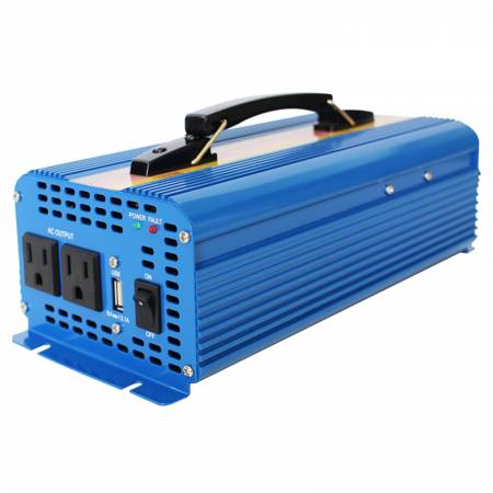 Portable Sine Wave Inverter - Easy Carry - Pure Sine Wave Inverter with Handle Bar