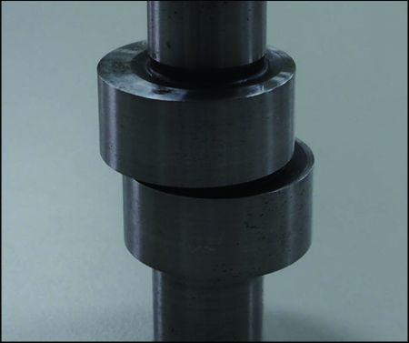 油泵心軸量測 - 15秒量測短尺寸中心軸與凸輪的外觀輪廓