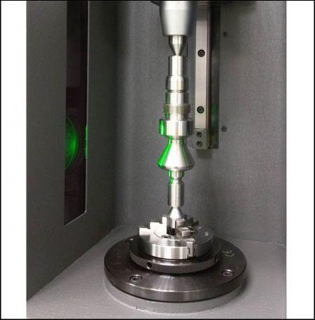 優適達遠心影像量測儀自動量測軸件