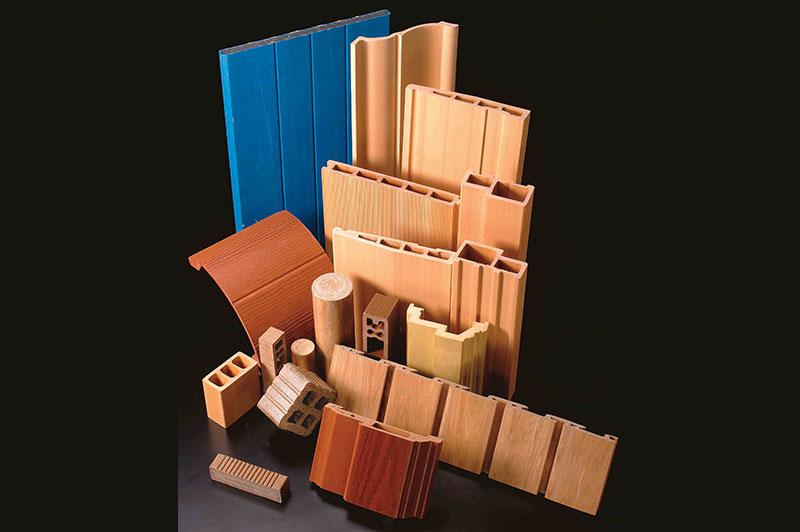 Wood Plastic Composite Profile Photo