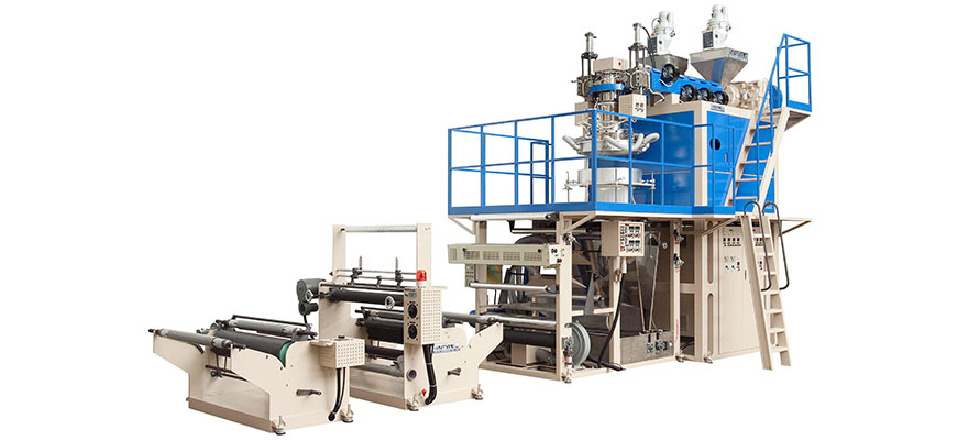Down Forward Type PE, PP, PVC Blowing Film Extrusion