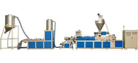Die-Face Cutter Type Recycling Machine - Die-Face Cutter Type Pelletizing Extrusion