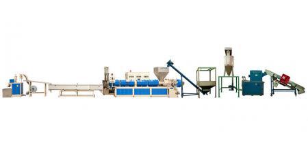 With Belt Type Conveyor / Metal Detector / Crusher … etc. Upstream Equipment