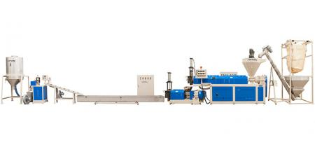 Two-Stage Type Recycling Machine - Two-Stage Type Pelletizing Extrusion