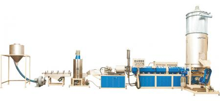 Water-Ring Type Recycling Machine - Water-Ring Type Pelletizing Extrusion