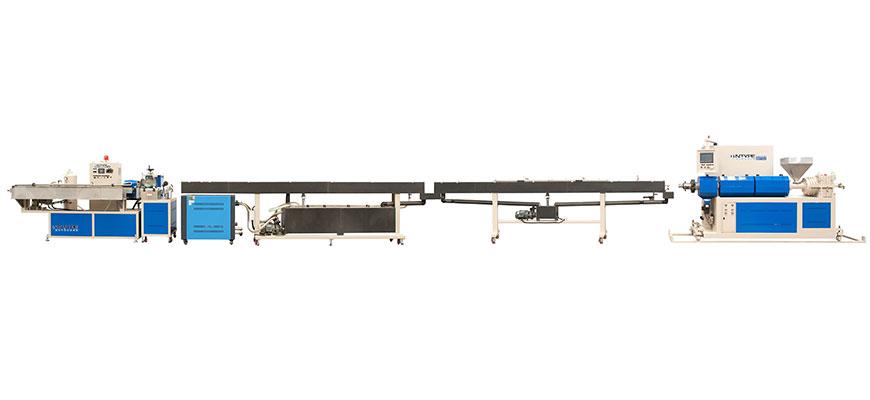 Single Screw Pipe / Tube Extrusion Line