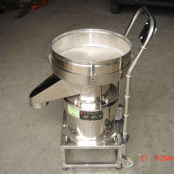 Special/Customized designs for noiseless compact sieve