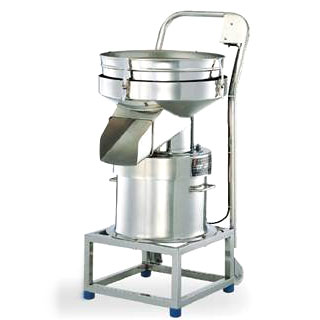Mobile noiseless compact sieve