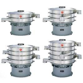 Basic Multi - Screen Models - Basic model of multi-deck round sieving machine