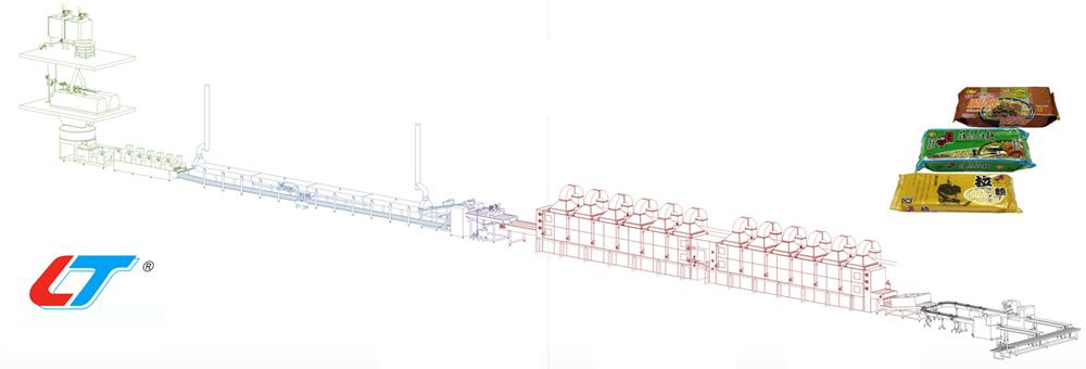 Lini Produksi Mie Kering (Ramen) Otomatis -  | Peralatan Produksi Mie Kering (Ramen) Otomatis