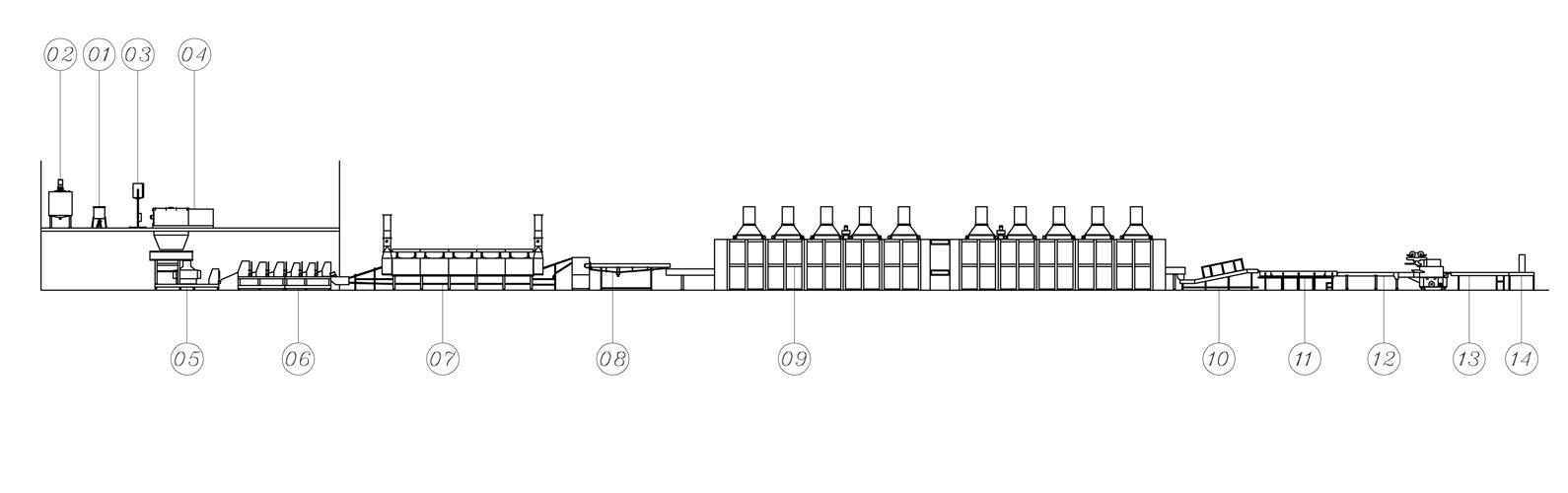 Automatic Dried Noodle (Ramen) Production Line - LTD-600 | Automatic Dried Noodle (Ramen) Production Line