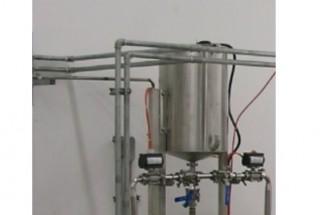 خزان المياه مع تحكم المستوى