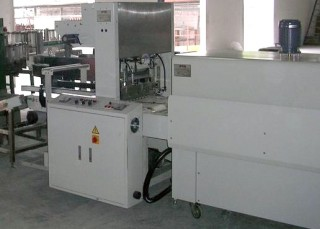 Automatic Two-Side Sealing with Shrink Tunnel