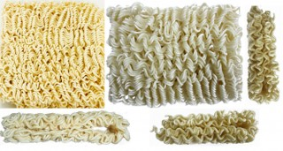 High Speed Automatic Bag Instant Noodle Production Line (Folded Noodle)