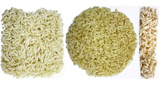 High Speed Automatic Bag Instant Noodle Production Line (Non-folded Noodle)